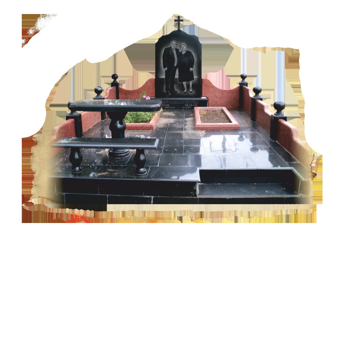Памятник с тумбой и оформлением, с крестом и свечой, различное оформление, любой сложности из гранита в Севастополе и Республике Крым. Фигурная резка. Размеры: 80х40х5 80х40х8 100х50х8 120х60х8