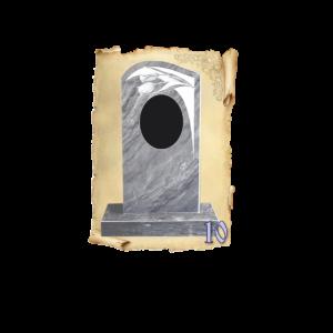 Памятник мрамор №10