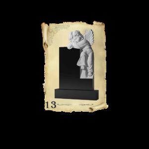 Памятник объемный 3D гранит №13