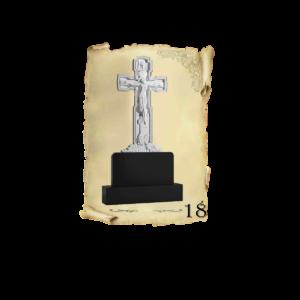 Памятник объемный 3D гранит №18