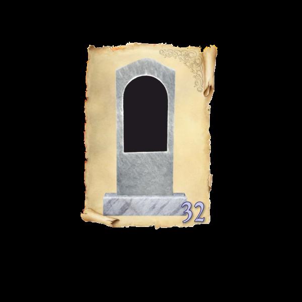 Памятник мрамор №32