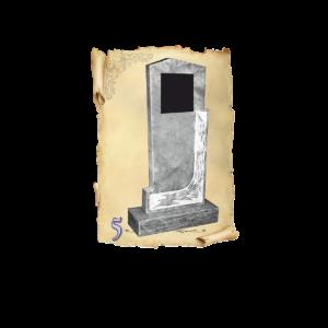 Памятник мрамор №5