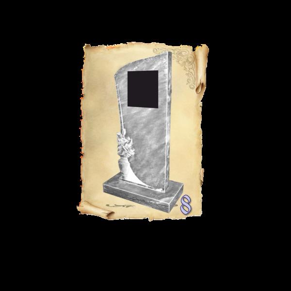 Памятник мрамор №8