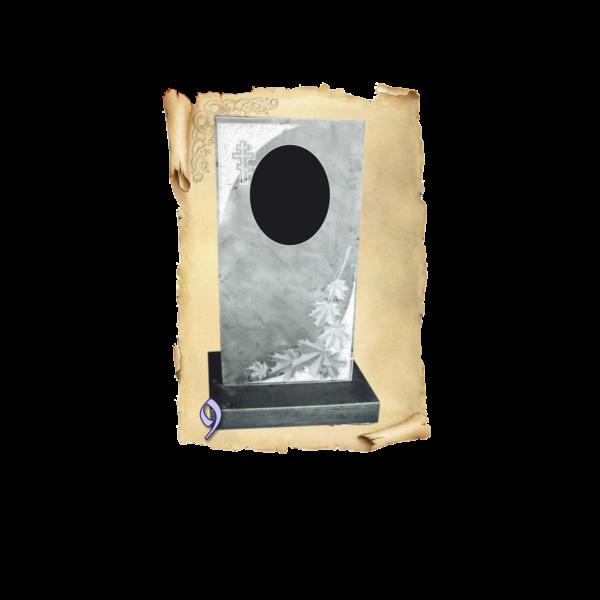 Памятник мрамор №9